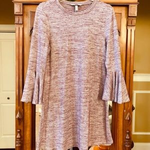 Speechless light purplish-pink midi dress. L. NWOT